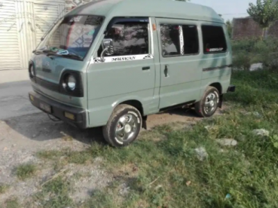 Suzuki bolan 2001 model Islamabad nmbr for sale